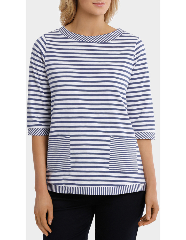 Two Stripe tee image 1