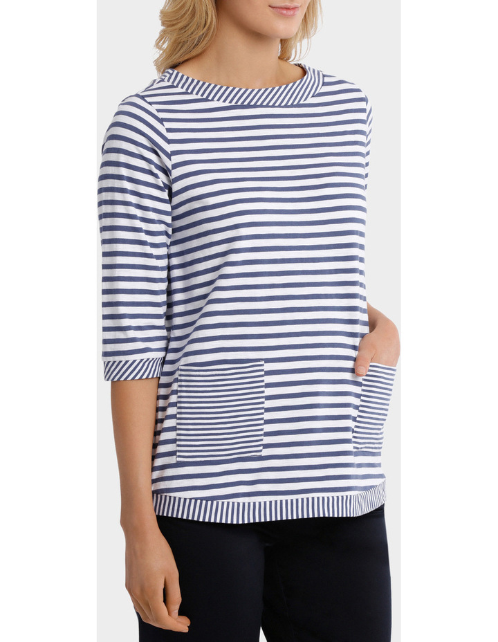 Two Stripe tee image 2