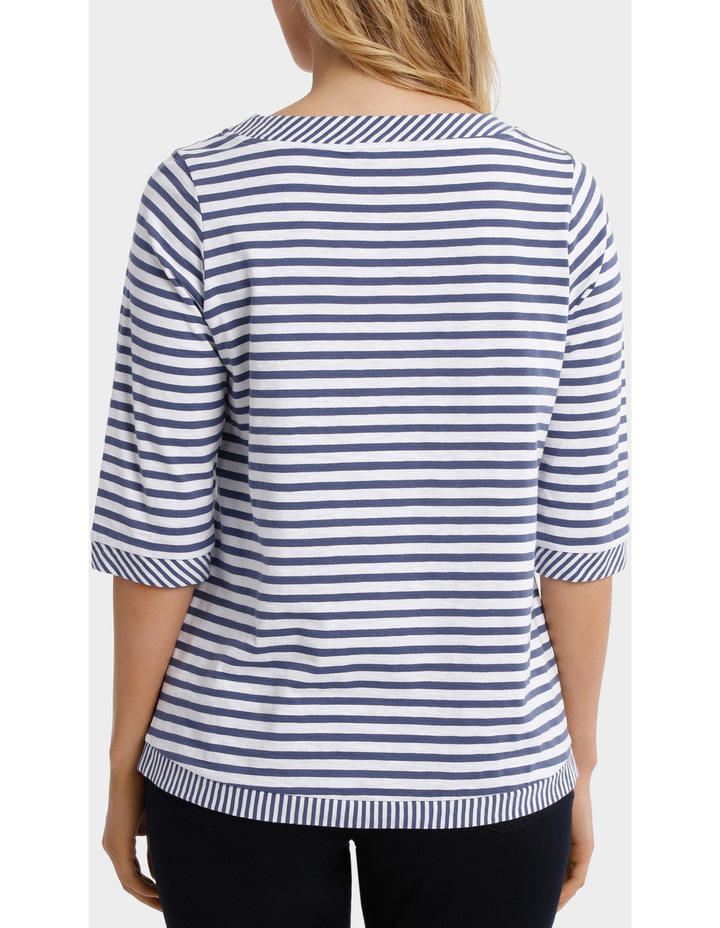 Two Stripe tee image 3