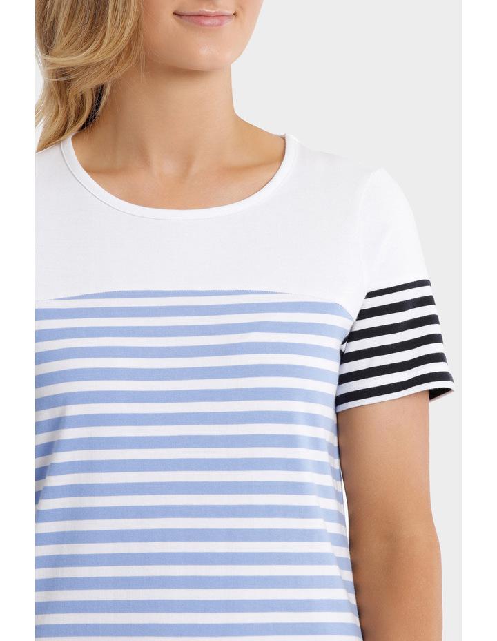 Multi Stripe Jersey Dress image 4
