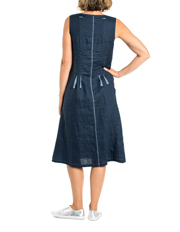 Yarra Trail Petites - Sleevless Drawstring Cord Dress