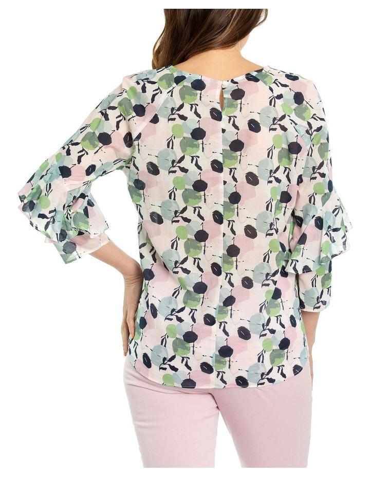 3/4 Frill Sleeve Blouse image 2