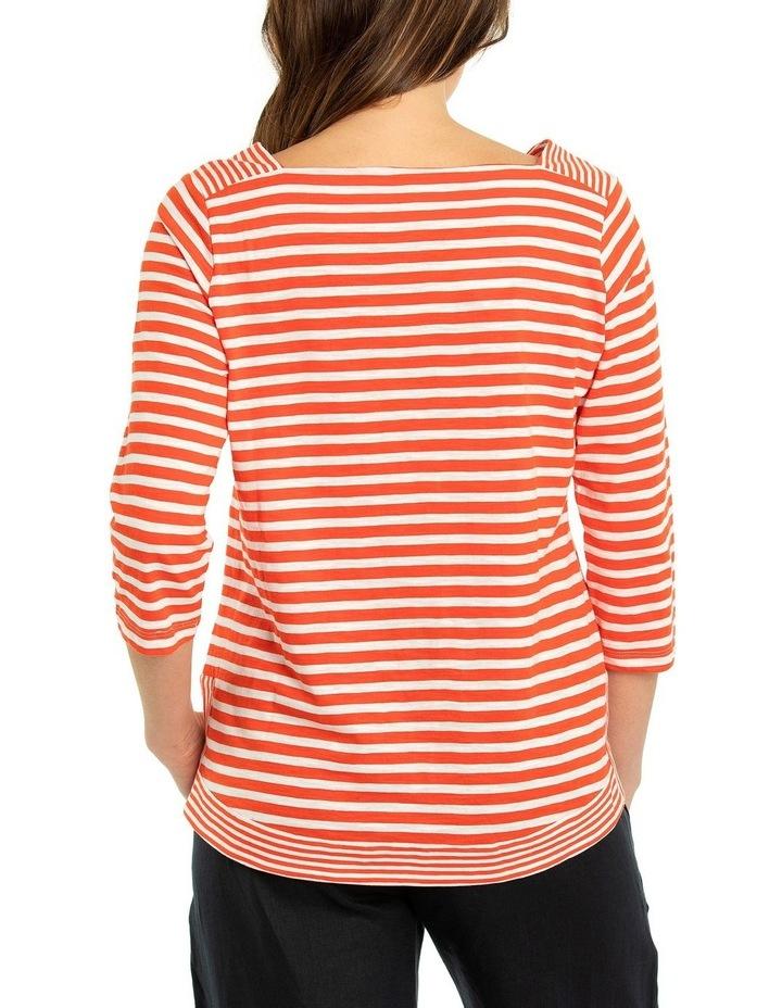 3/4 Sleeve Striped Tee image 2