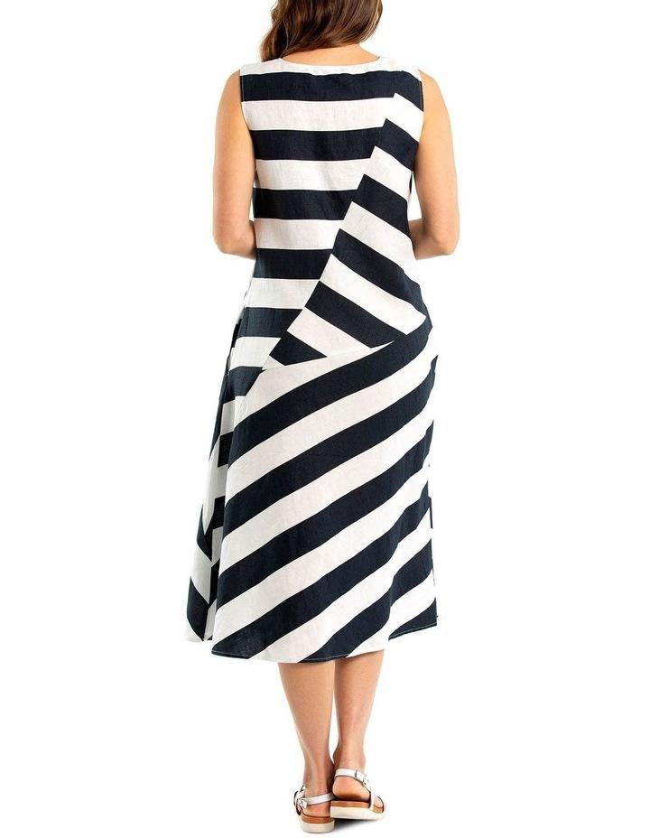 Sleeveless Stripe Dress image 2