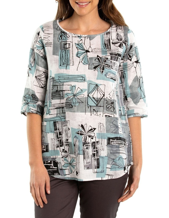 Flower Patch Print Blouse image 1