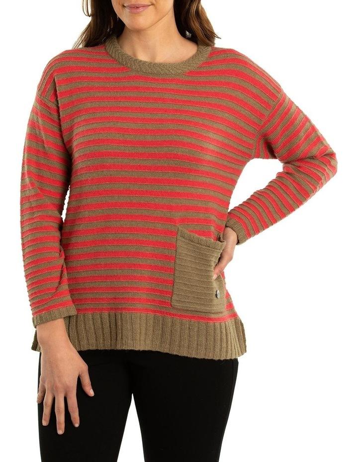 Pocket Stripe Jumper image 1