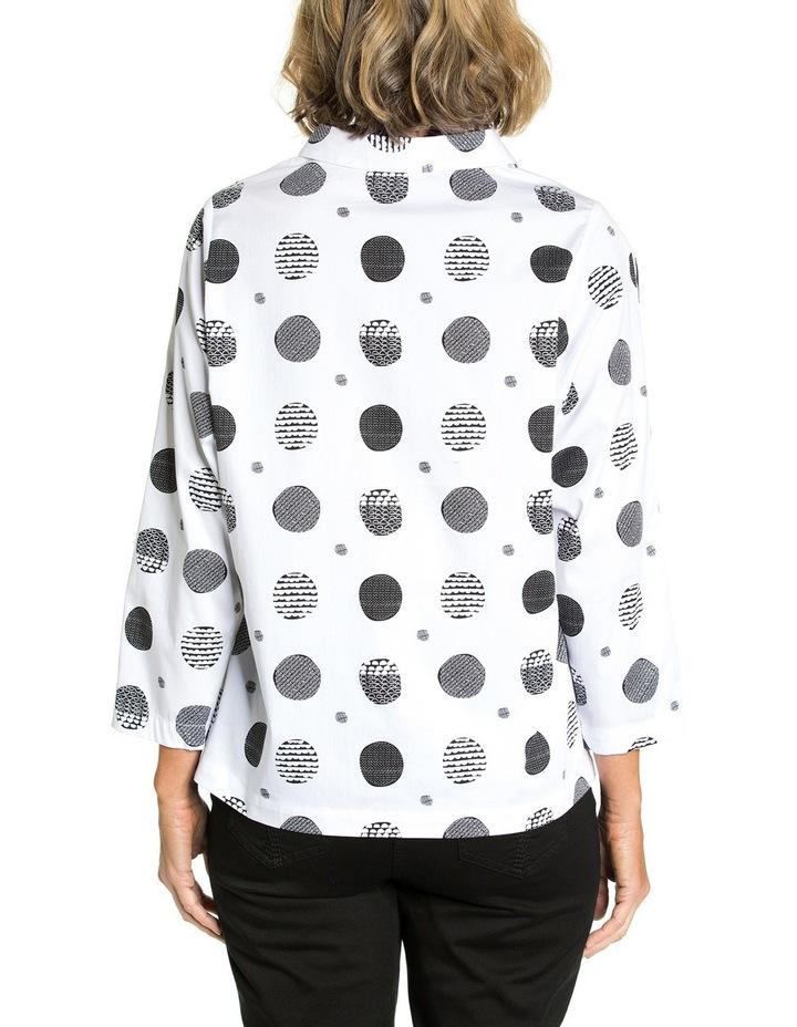 Curved Hem Print Shirt image 2