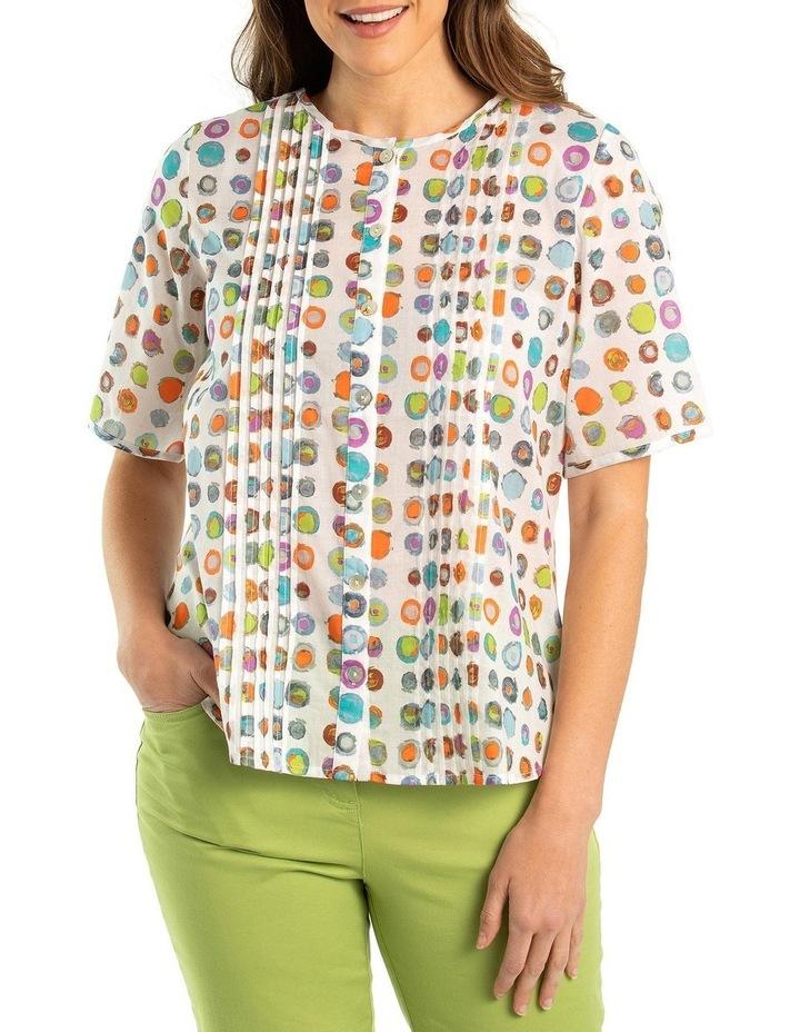 Bullseye pintuck shirt image 1