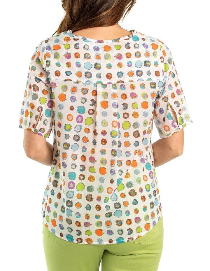 Bullseye pintuck shirt image 2