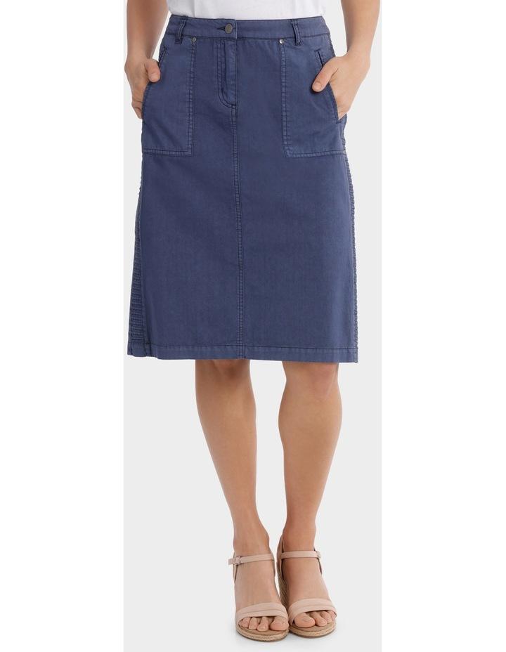 Pintuck Detail Panel Skirt image 1