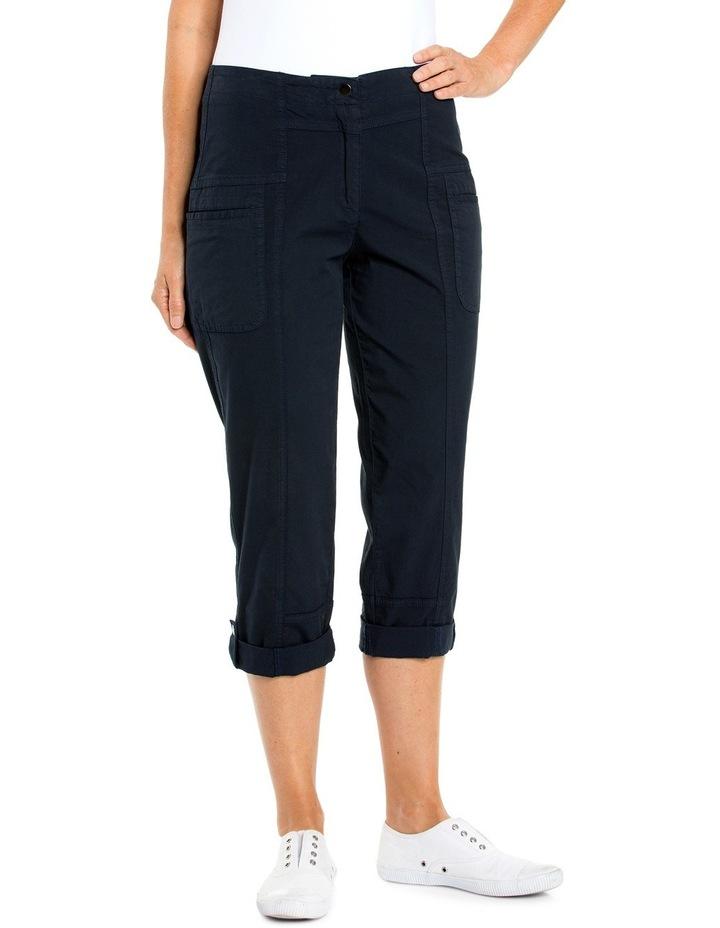 Panelled Washer Cotton Pant image 1