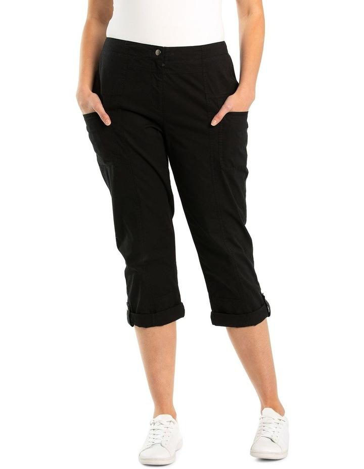 Paneled Washer Cotton Pant image 1