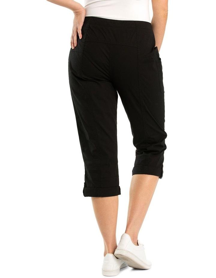 Paneled Washer Cotton Pant image 2