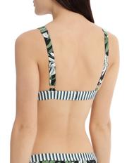 Piper - Hi Tri Bikini Top Print