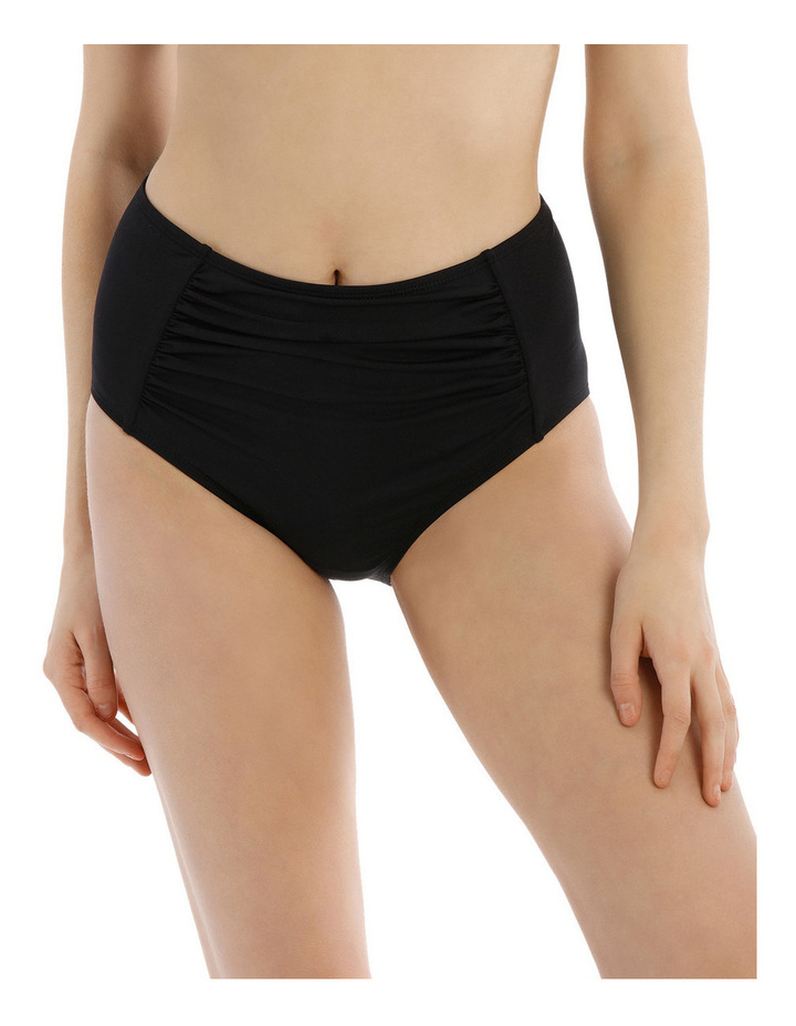 High Waisted Rouched Front Bikini Pant image 1