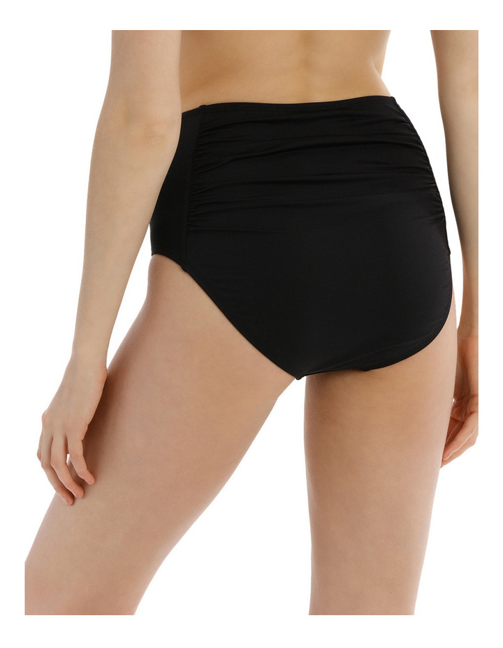 High Waisted Rouched Front Bikini Pant image 2