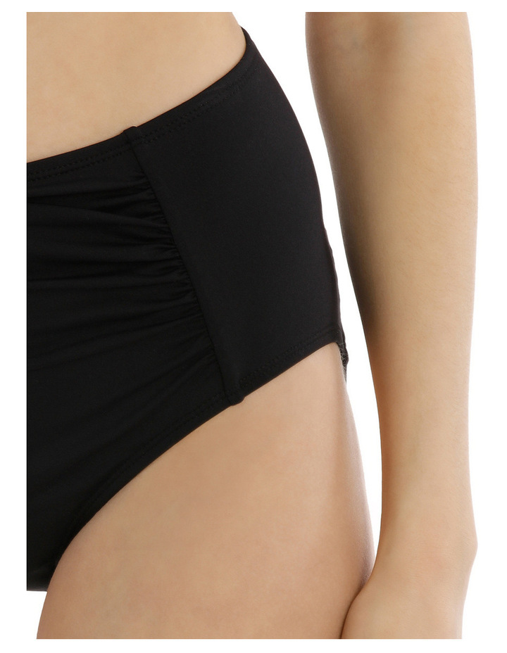 High Waisted Rouched Front Bikini Pant image 3
