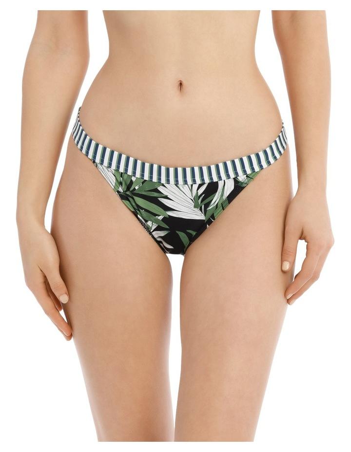 Banded Bikini Bottoms Print image 1
