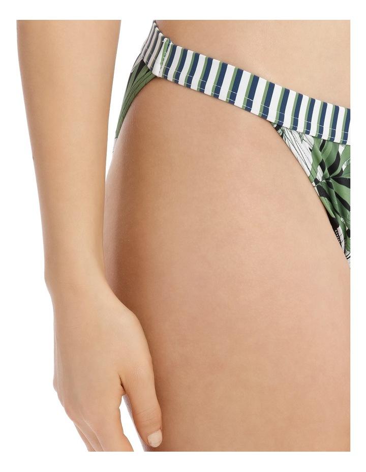 Banded Bikini Bottoms Print image 3