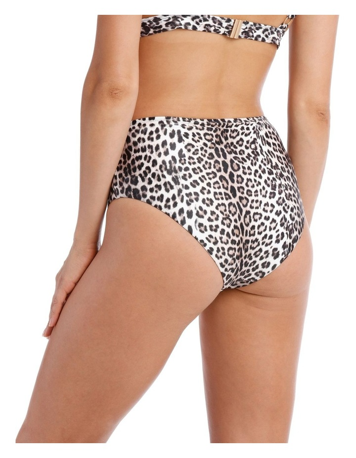 High Waisted Bottom in Leopard Print image 2