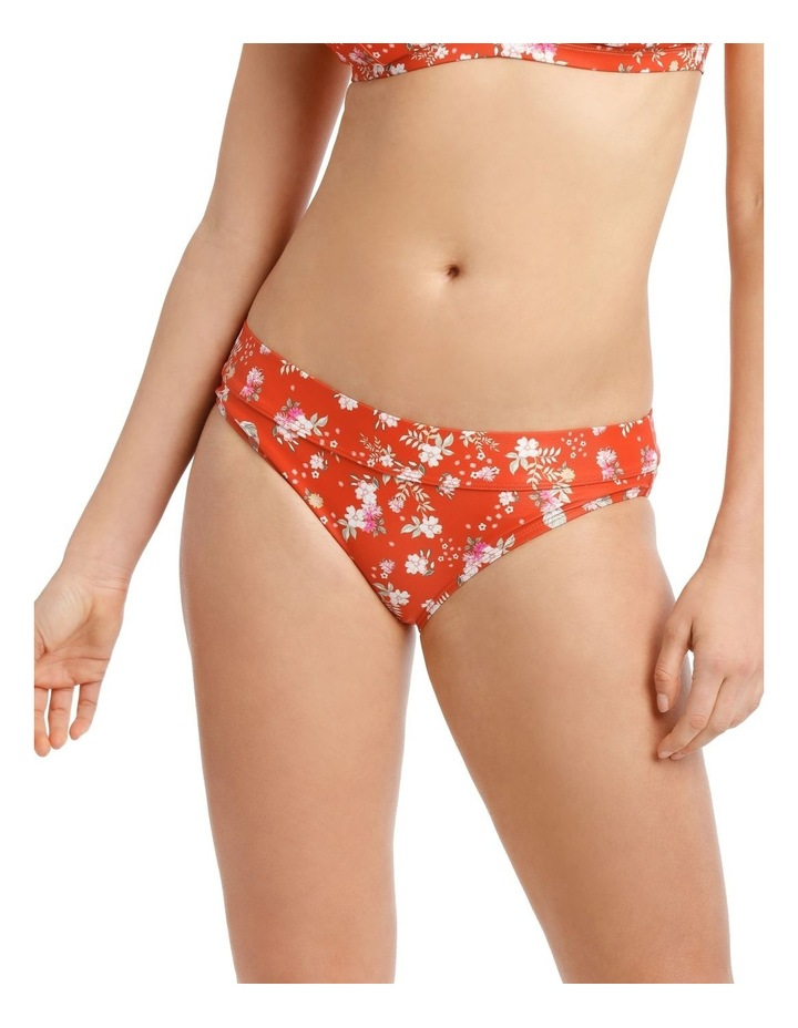 Swim Bottom With Panel Detail Floral Print image 1