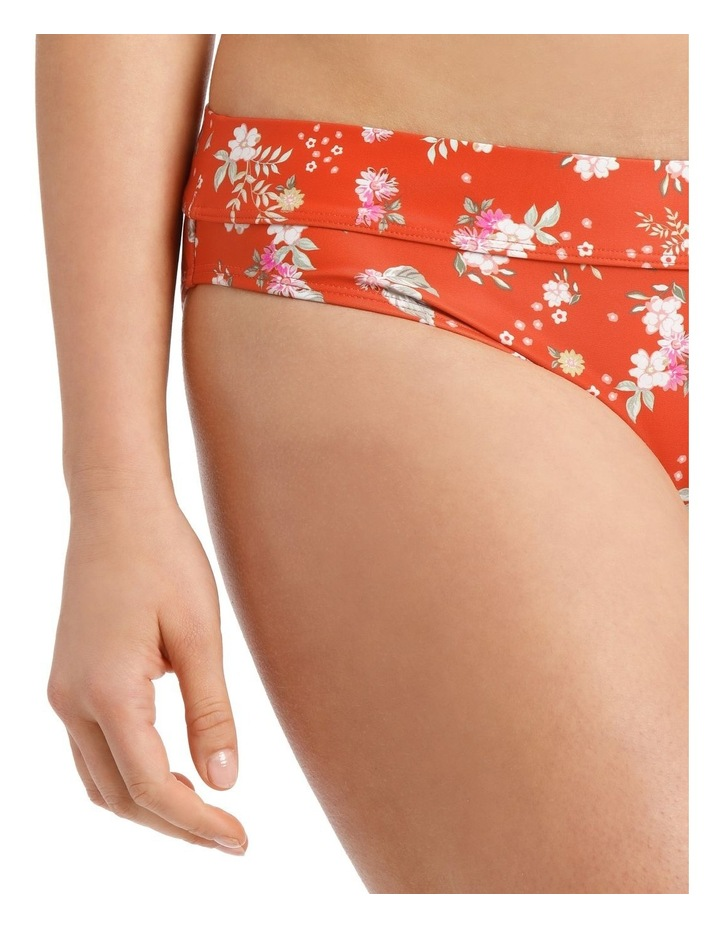 Swim Bottom With Panel Detail Floral Print image 3