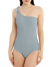 One Shoulder One Piece Print