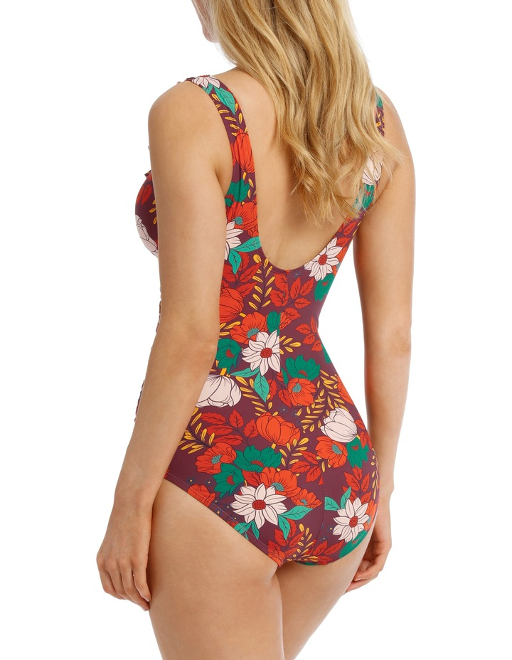 One Piece with Ruffle front Printed image 2