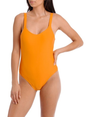 a4ff2357c9 PiperOne Piece with Round Neck and Low Scoop Back. Piper One Piece with  Round Neck and Low Scoop Back