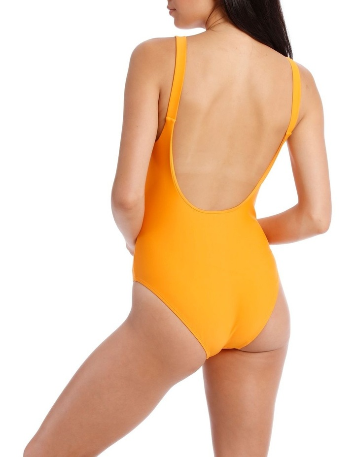 One Piece with Round Neck and Low Scoop Back image 2