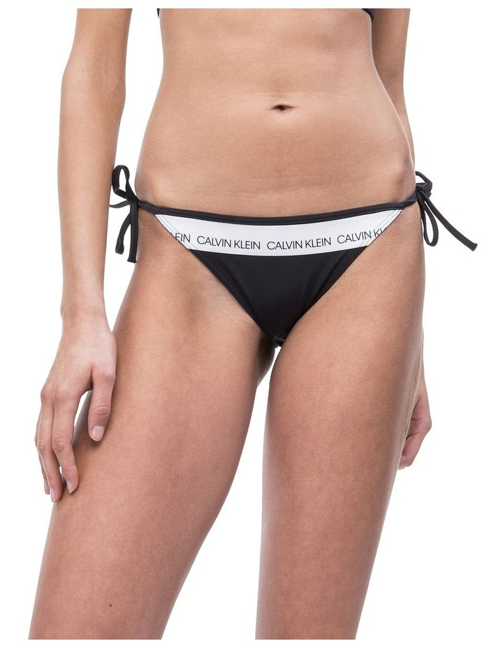 the latest 19ac8 4f654 Calvin Klein Swimwear String Side Tie Bikini