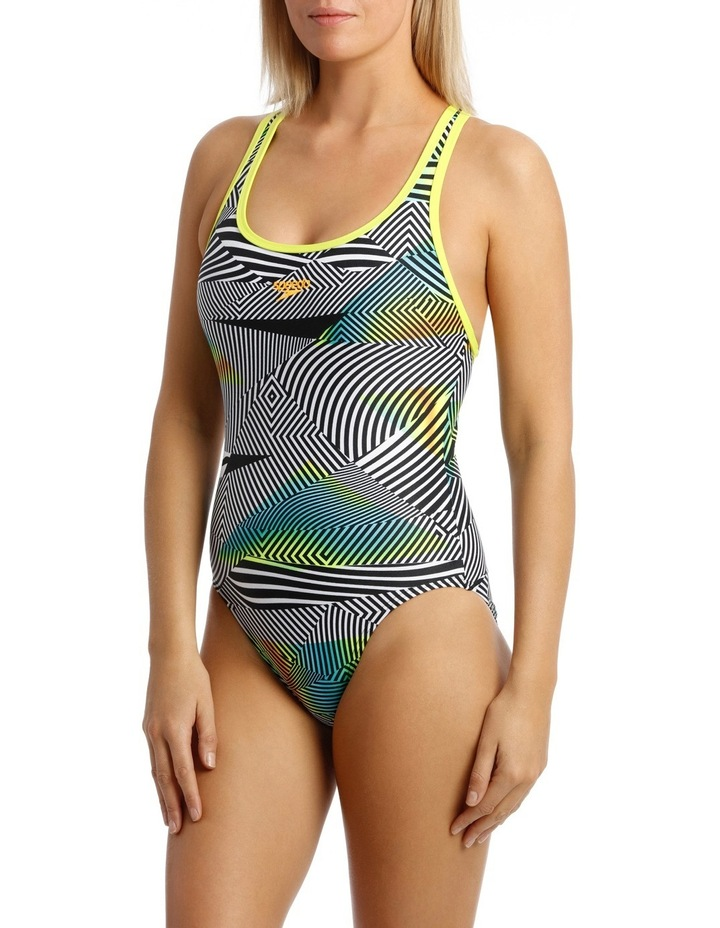 Womens Swimmer Op/Sound Waves/Mojito image 1