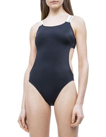 42565332df87a Calvin Klein Swimwear Open Cut One Piece-RP