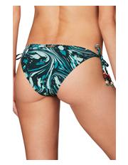Stella McCartney Swim - Marble print Tie Side Bikini