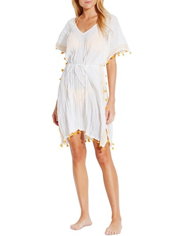 965b133cc9 SeafollySeafolly Sunflower Mini Tassel Gauze Kaftan. Seafolly Seafolly  Sunflower Mini Tassel Gauze Kaftan