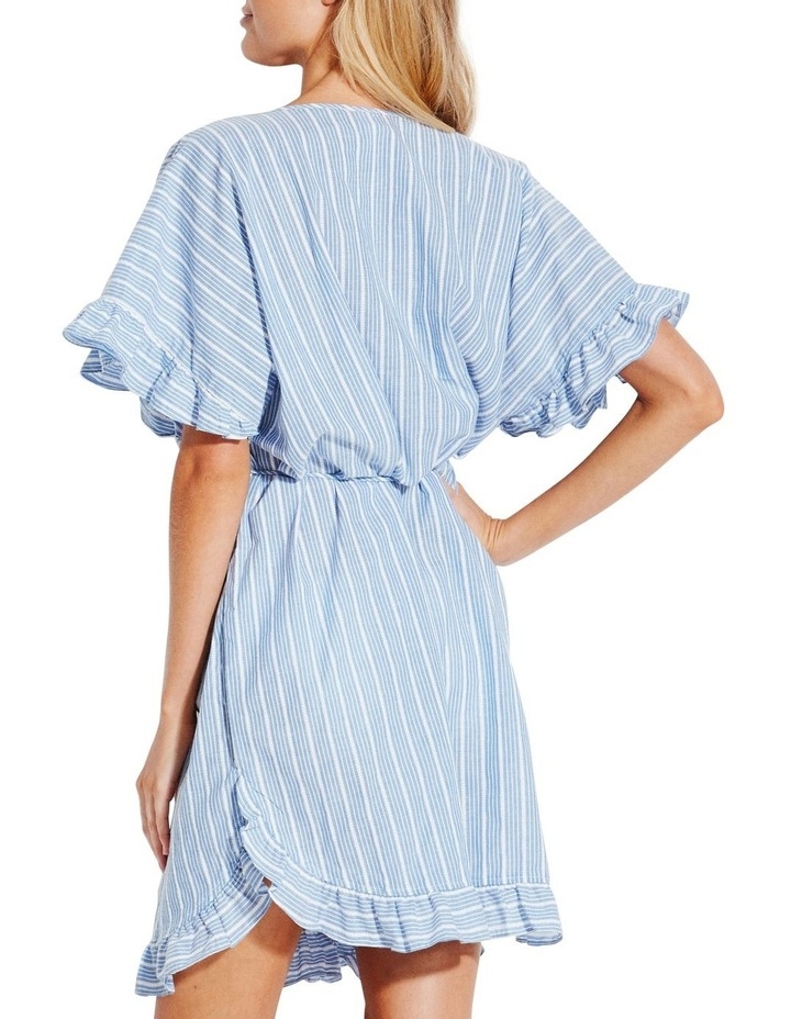 Lace Trim Stripe Kaftan image 2