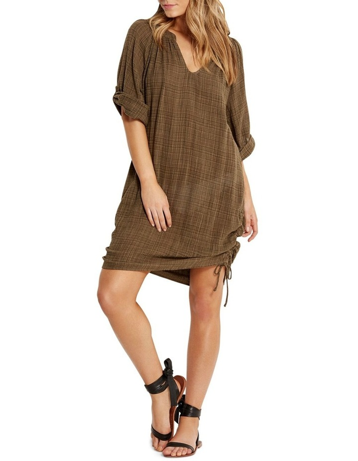 Textured Gauze Beach Shirt image 1