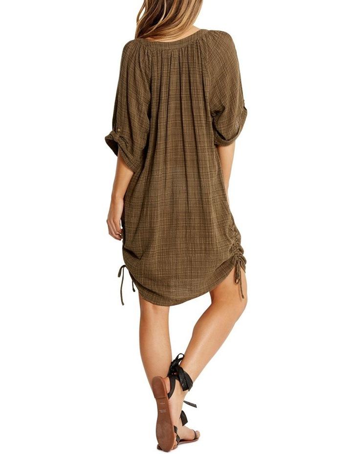 Textured Gauze Beach Shirt image 2