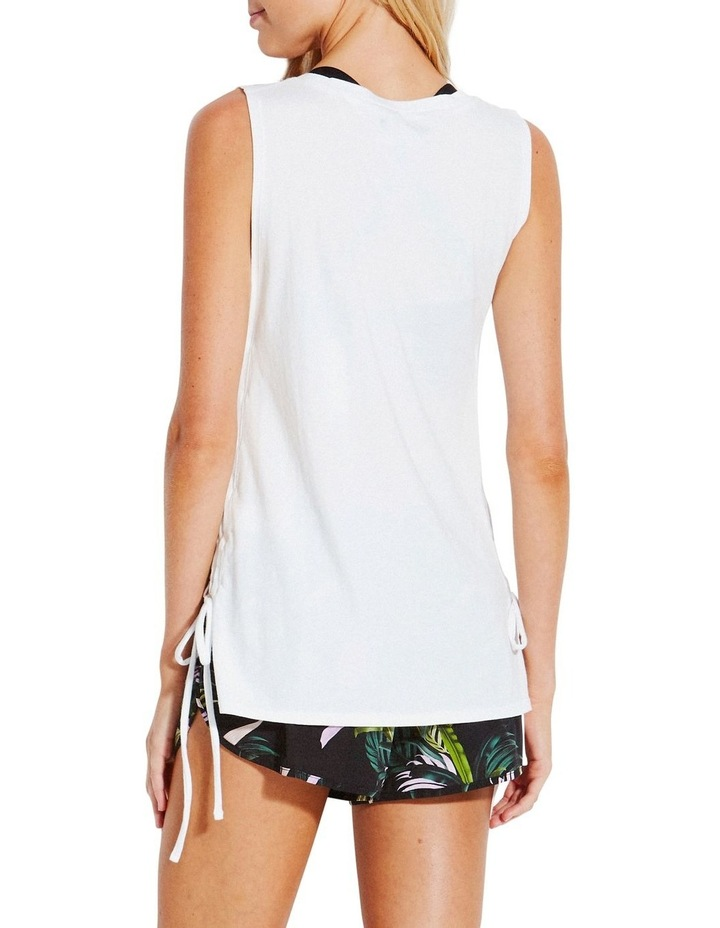 Sunflower Active Lace Up Singlet image 2