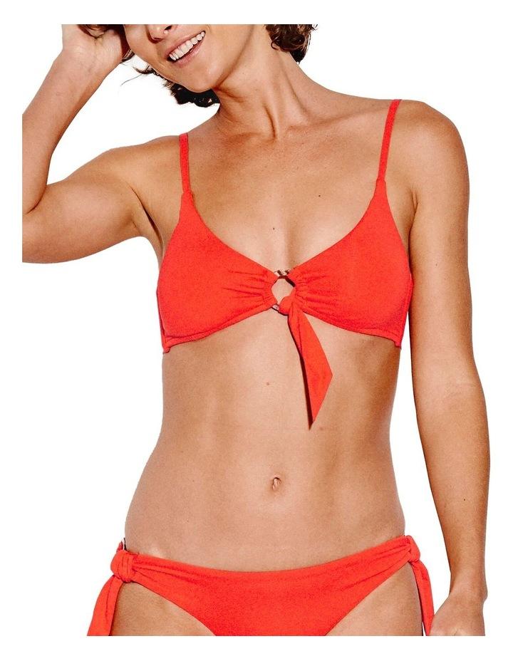 Active Ring Front Crop Bikini Top image 1
