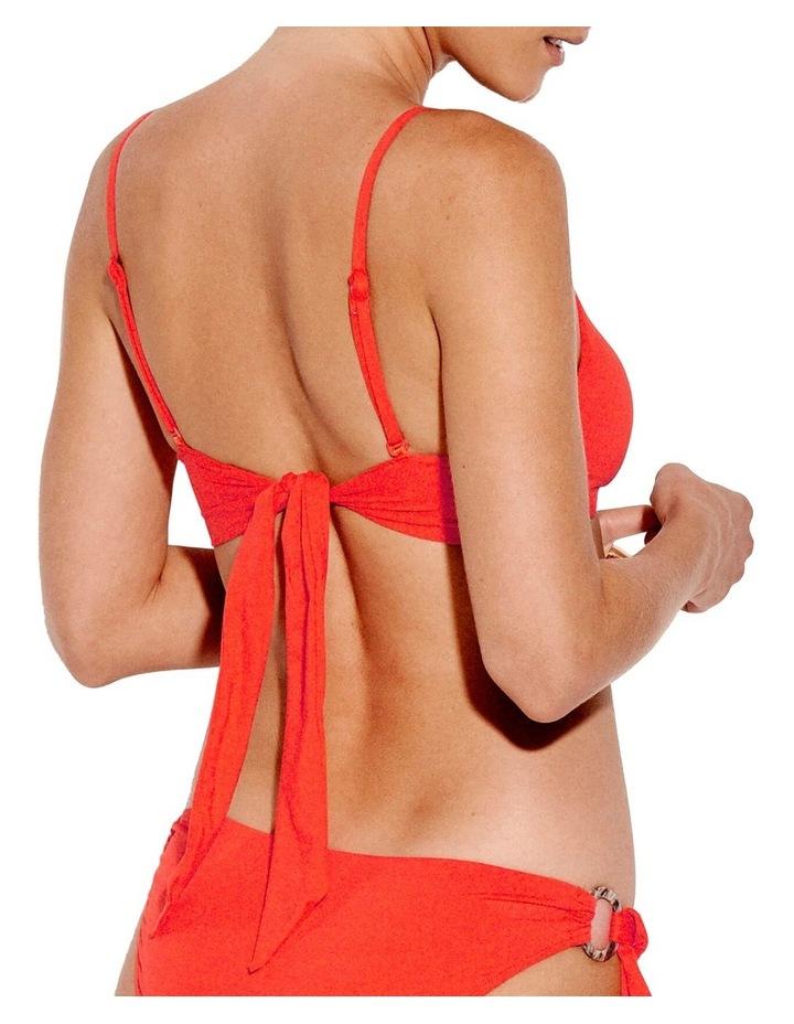 Active Ring Front Crop Bikini Top image 2