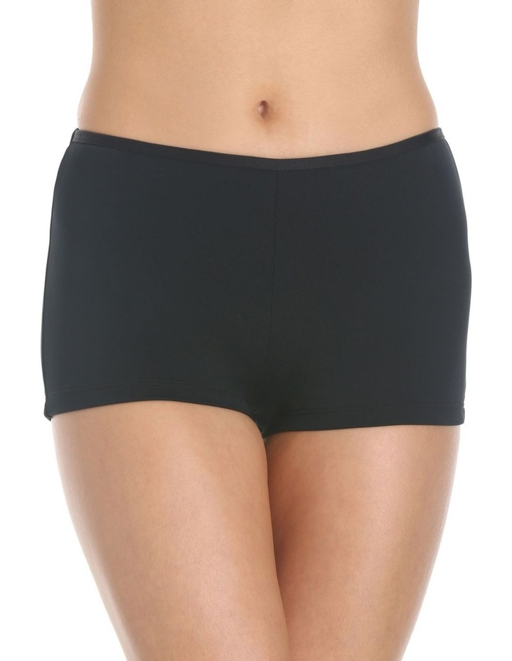 Boyleg Bikini Bottom Black image 1