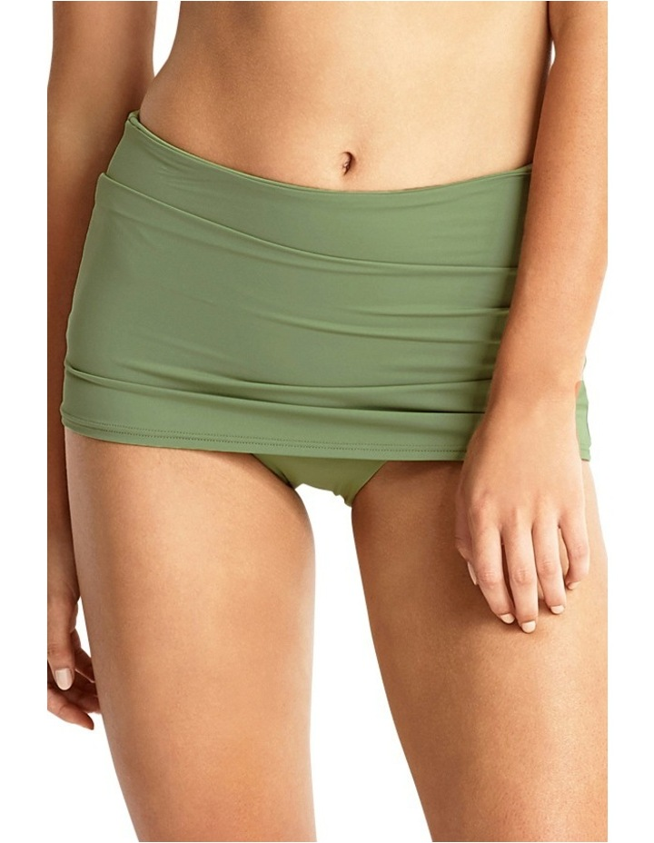 High Waisted Skirted Pant image 1