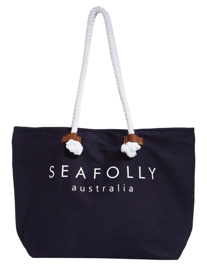 Carried Away Ship Sail Tote Bag image 1