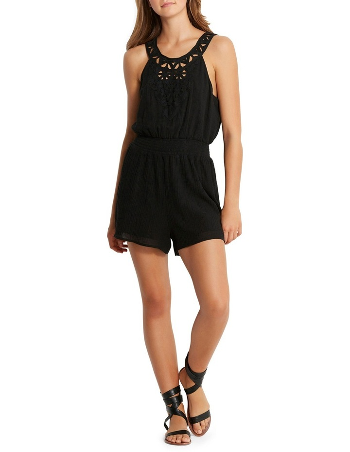 Geo Lace Playsuit image 1