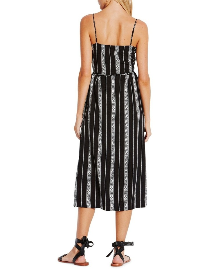 Lattice Stripe Wrap Dress image 2