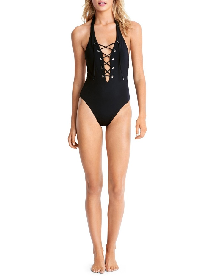 Lace Up Maillot image 1