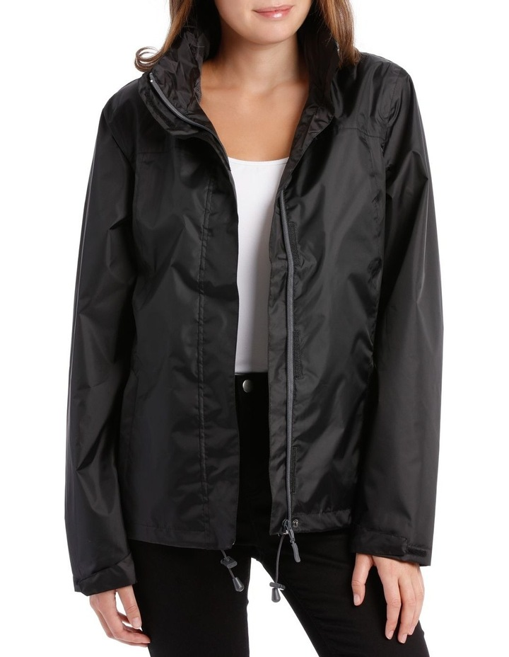 Delta waterproof packable jacket with venting detail image 1