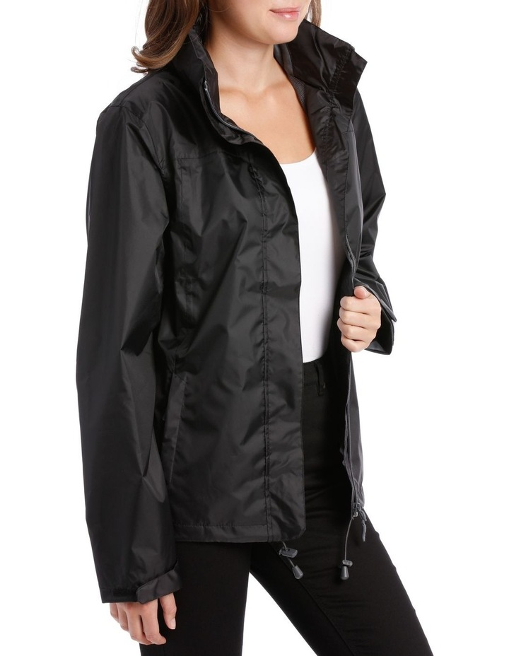 Delta waterproof packable jacket with venting detail image 2