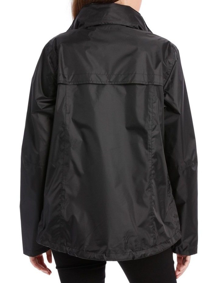 Delta waterproof packable jacket with venting detail image 3